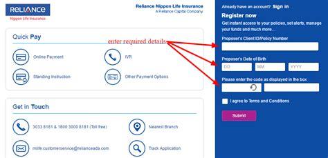 Benefits of reliance nippon life insurance plans: Reliance Nippon Life Insurance Online Login - CC Bank