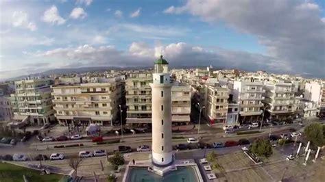 aerial view  alexandroupoli evros greece youtube