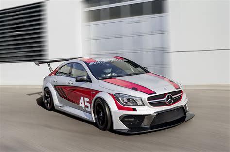 mercedes benz cla  amg racing series top speed