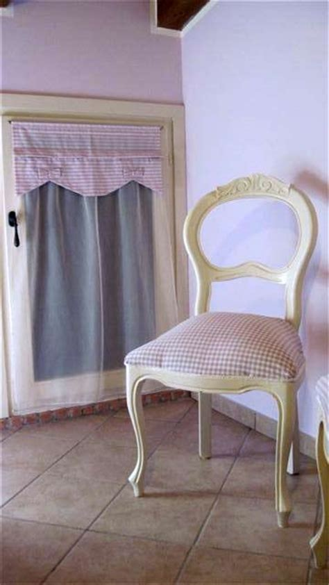 vestine per sedie abbinare le tende con sedie di una volta