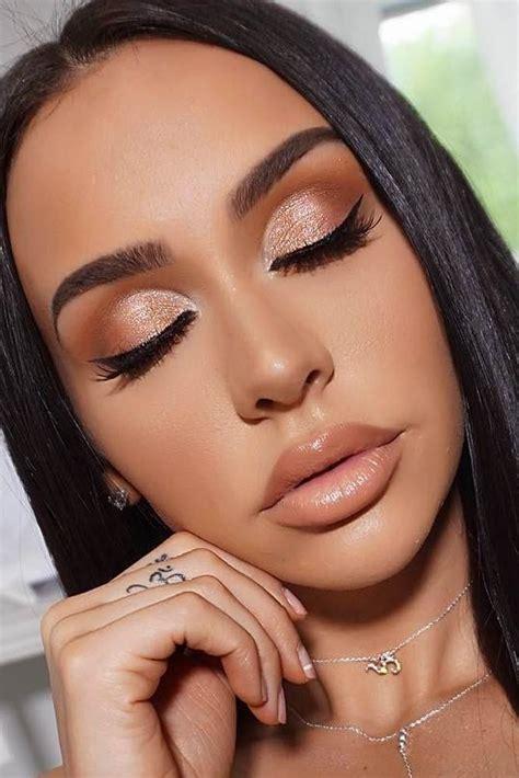 top rose gold makeup ideas     goddess gold makeup  rose gold makeup rose