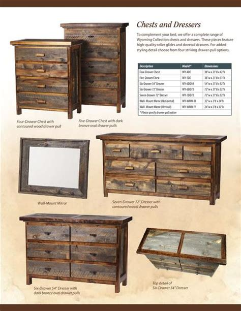 page 3 of reclaimed rustic wood furniture