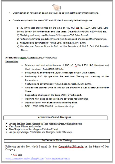 resume format for experienced 2014 10000 cv and resume sles with free resume format for experience