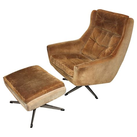 modern lounge chair with ottoman mid century modern overman lounge chair with ottoman at