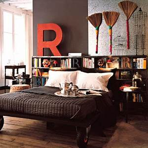 Tete De Lit Rideau : id es de t tes de lit originales pr tes poser d conome ~ Preciouscoupons.com Idées de Décoration