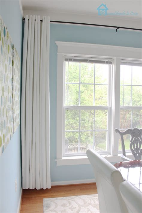 how should curtains be how to make your curtains longer remodelando la casa