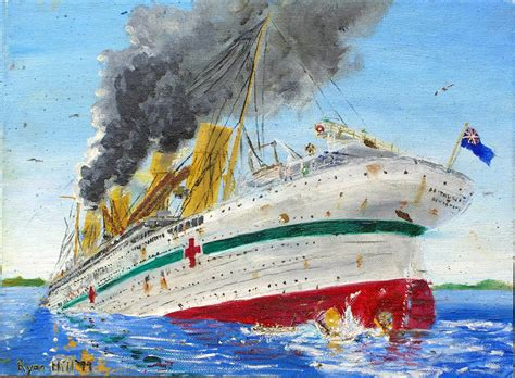 Sinking Of The Britannic by Sinking Of The Britannic 1 By Rhill555 On Deviantart
