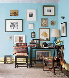 How to hang art on a wall for How to decorate walls with art