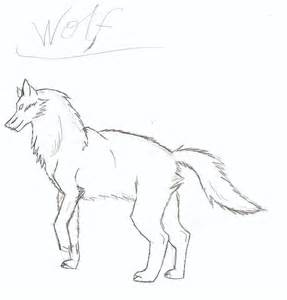 Cool Wolf Drawings
