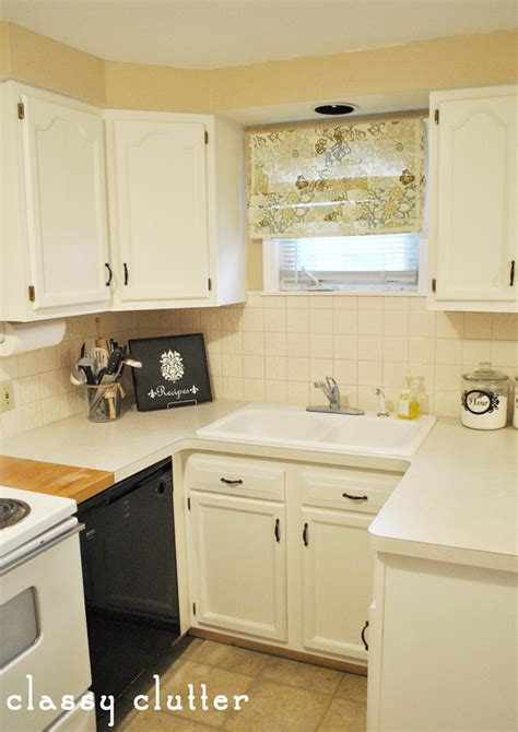 Painted Cabinets And My Kitchen Makeover  Classy Clutter