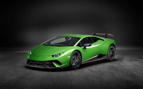 2017 Lamborghini Huracan Performante 4k Wallpapers Hd