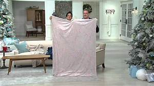 Badspiegel 50 X 70 : berkshire blanket 50 x70 cherry blossom embroidery luxe throw on qvc youtube ~ Frokenaadalensverden.com Haus und Dekorationen