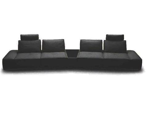 Contemporary Leather Sectional Sofas by Contemporary Italian Leather Sectional Sofa 44l5929