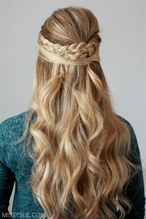 dutch braid embellished  updo