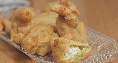 ricette primi piatti con fiori di zucca fiori di zucca fritti golosa variante agrodolce