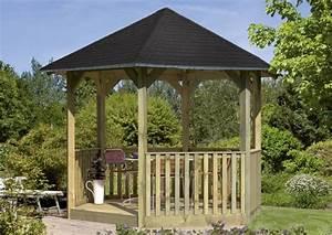 6 Eck Pavillon : sonderangebot karibu holzpavillon madrid 6 eck pavillon eco kdi ~ Frokenaadalensverden.com Haus und Dekorationen