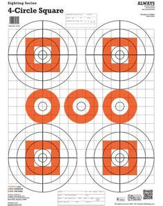 print  file  smallbore rifle targets  shooting practice    format