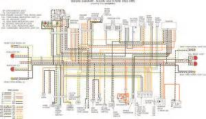 Gsxr 750 Wiring Diagram by Gsx R750 93 95 Wiring Diagram Suzuki Gsx R Motorcycle