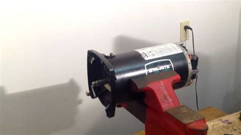 Sta-rite Maxi-glas Pool Pump Motor Bench Test