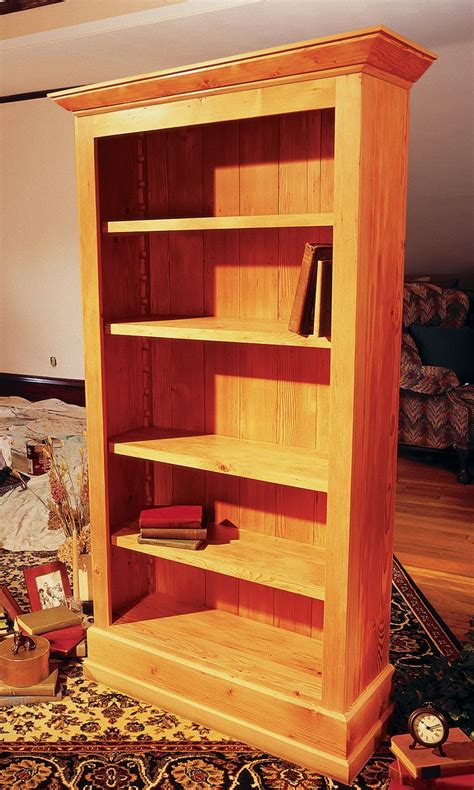 cottage bookcase woodworking nail holes  montgomery ward