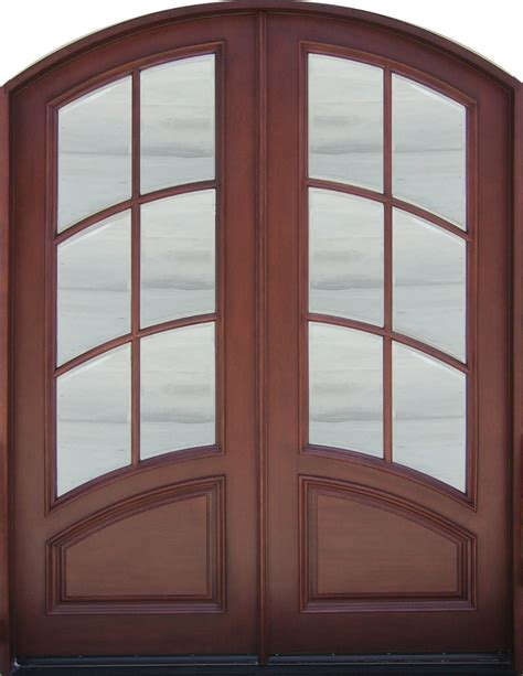 Impressive Cheap French Doors Exterior #12 Arched Double