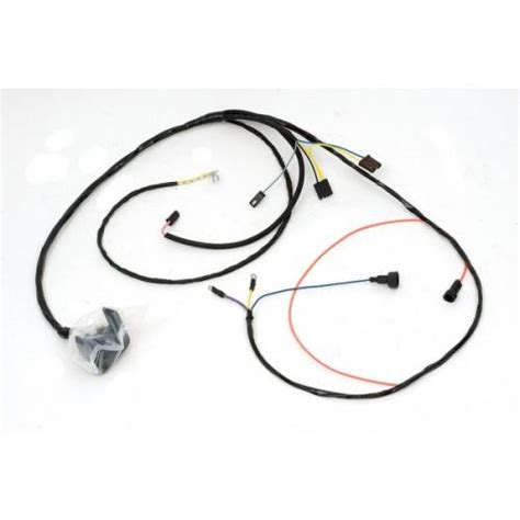 1969 Chevelle Engine Wiring by Chevelle Engine Wiring Harness 6 Cylinder For Cars With