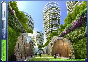 Paris en 2050 : une ville verticale et végétale ! - BoGazon
