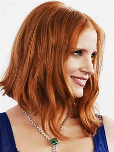 Coiffure Femme Mi Long : coupe de cheveux femme mi long rousse ~ Melissatoandfro.com Idées de Décoration