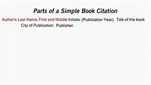apa citation of a textbook how to cite a book in apa style youtube