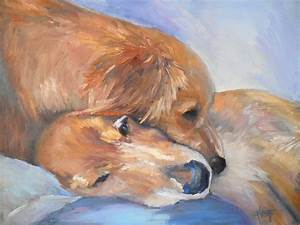 CAROL SCHIFF DAILY PAINTING STUDIO: Gone to the Dogs ...