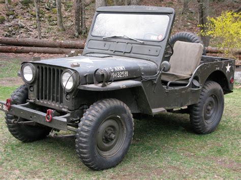 military jeep willys for sale 1952 jeep m38 willys for sale