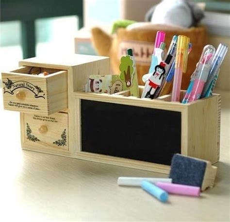 shipppingdiy wooden desk organizer  container
