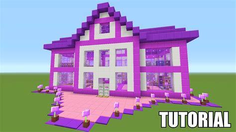minecraft tutorial     barbie dream house survival house ash youtube