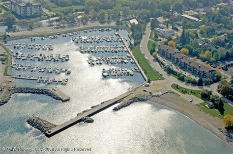 Thornbury Municipal Harbor in Thornbury, Ontario, Canada