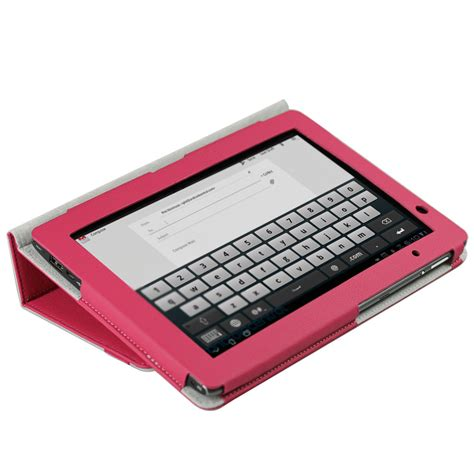 Acer Tablet Cover by Pink Pu Leather Case Cover For Acer Iconia Tab A500 A501