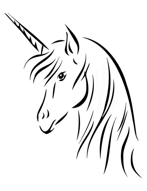Unicorn Coloring Pages to Print | Please enjoy our free printable unicorn coloring pages
