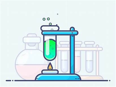 Chemical Reaction Chemicals Animation Clipart Motion Schools