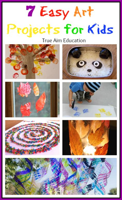 7 easy activities for and s library 60 707 | easy art projects for kids