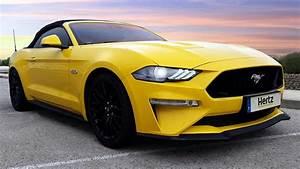 Hertz incorpora a su flota Premium en España el Ford Mustang GT convertible | Inout Viajes