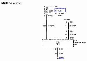 I Need The Wireing Diagram For A Ford Cd Cassette Radio   Yu3f