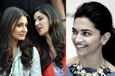 deepika padukone replies to no friends comments given by katrina and anushka