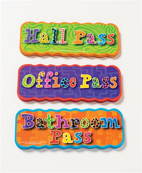 bathroom pass ideas get your classroom organized with magnets dowling magnets