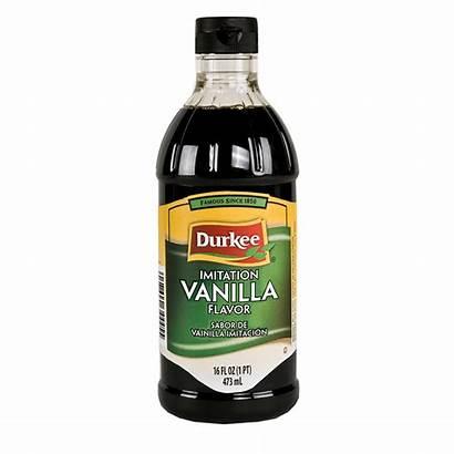 Vanilla Imitation Extract Pure Flavor Durkee Foods