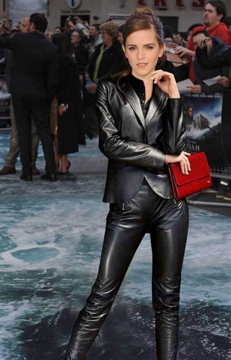 Let Candid Lederladies Emma Watson