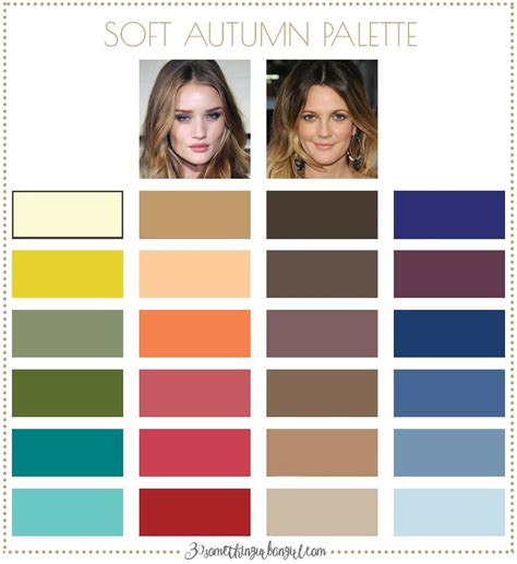 soft autumn color palette the 25 best soft autumn color palette ideas on