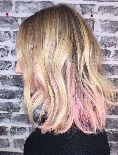 light pink highlights hair light pink highlights www pixshark