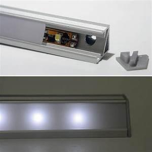Barre Lumineuse Led : led barre lumineuse aluminium set m transformateur ~ Edinachiropracticcenter.com Idées de Décoration