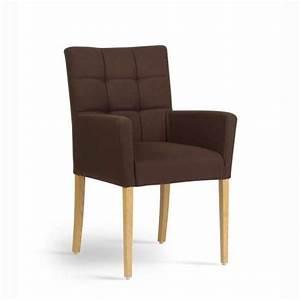 Fauteuil En Bois : fauteuil tissu contemporain ~ Teatrodelosmanantiales.com Idées de Décoration