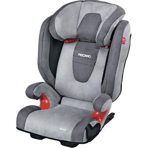 siege auto recaro 123 recaro siège auto monza seatfix gr2 3 asphalt grey achat