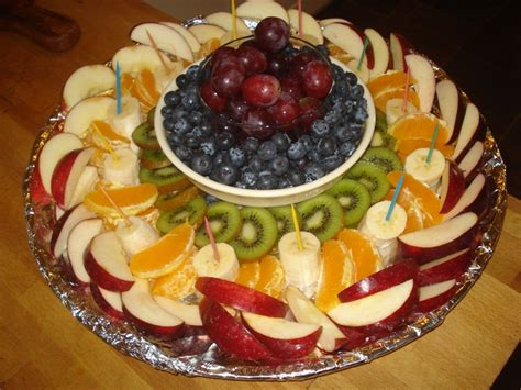 Best Images About Fruit Plates On Pinterest